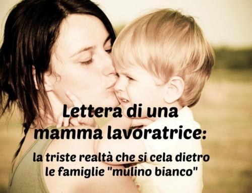 LA PRECARIETA' SUL LAVORO DELLE MAMME LAVORATRICI.